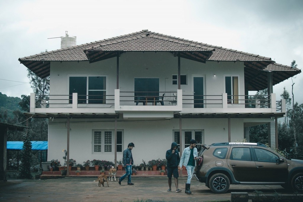 Megur homestay front view.